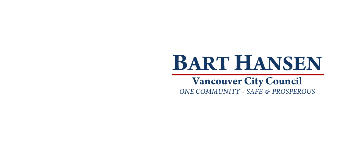 Bart Hansen for Vancouver City Council